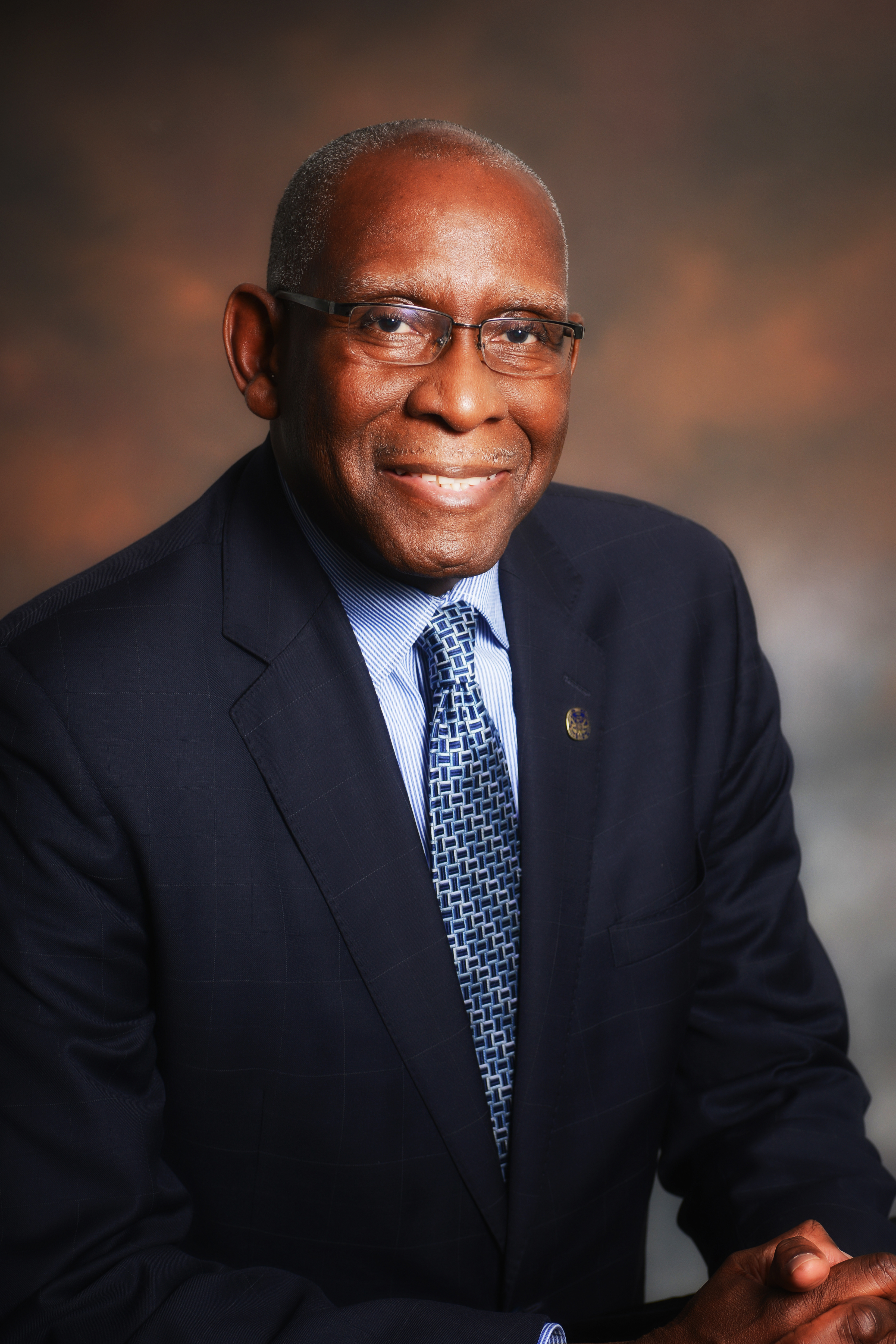 David Hall, Ph.D., president of the University of the Virgin Islands