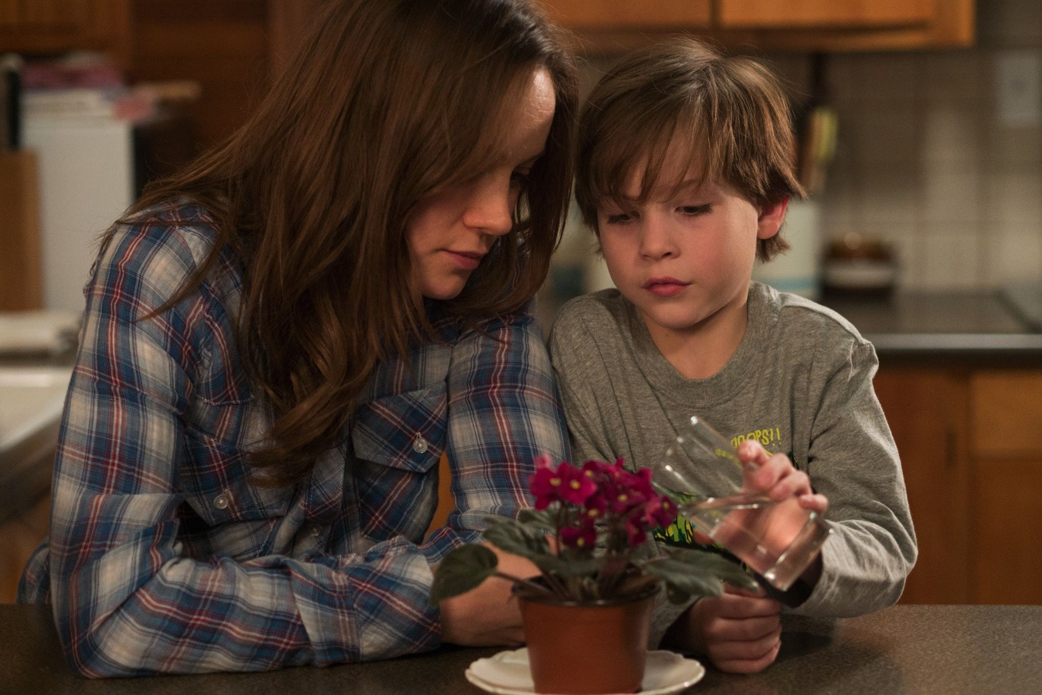 'Room' stars Brie Larson and Jacob Tremblay