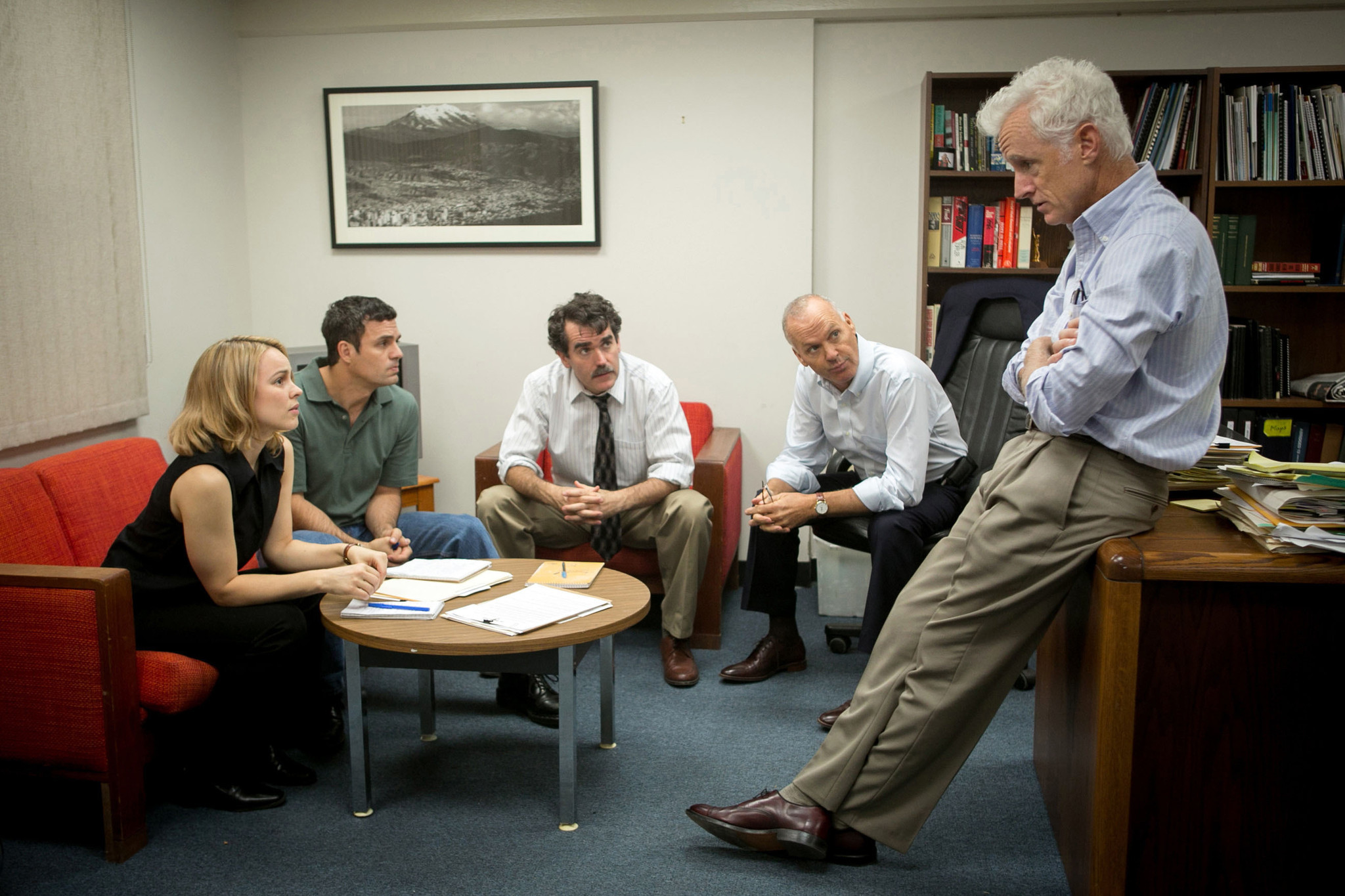 A scene from the film 'Spotlight'