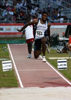 Muhammad Halim competing at CAC Games in 2010