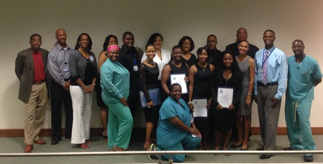 Nine graduates are now surgical technicians at Schneider Regional Medical Center.