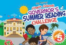 Governor's Summer Reading Challenge. (Click on image for larger view.)