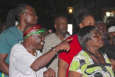Quelbe Tramp in Charlotte Amalie