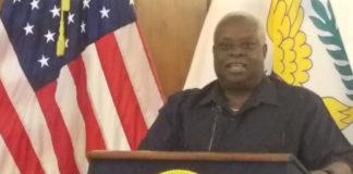 Gov. Kenneth Mapp reassures Virgin Islanders thst the territory has enough fuel.