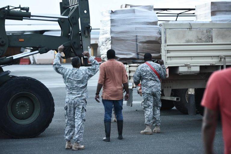 Military Flights Coming In, STX Truck Rack Open