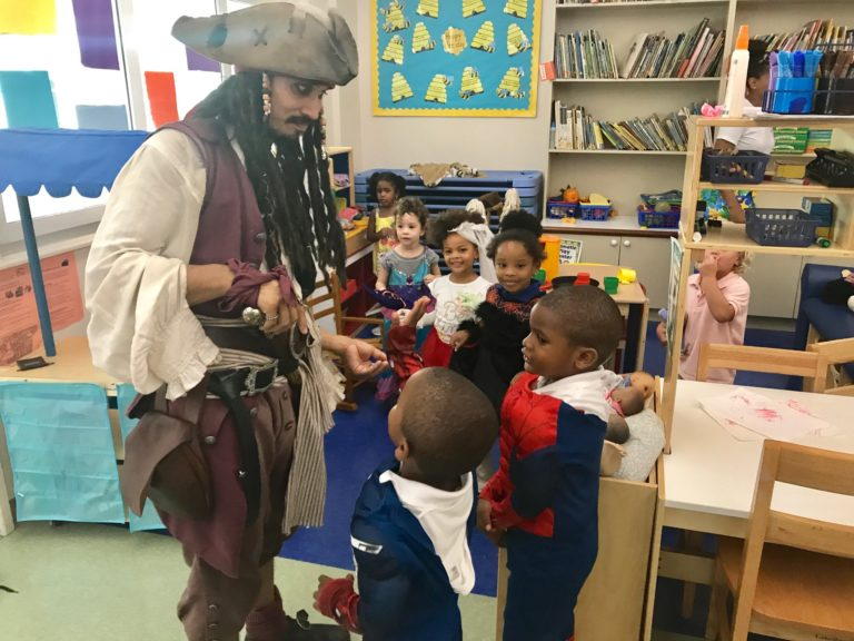 Pirate Raids Antilles School on First Day Back