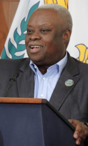 Gov. Kenneth Mapp says most government workers will be off Friday to celebrate Veterans Day, but not teachers. (Jamie Leonard)