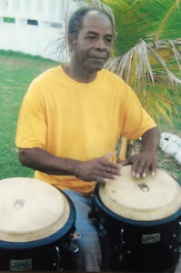 Harold Johnson began playing drums as a child, and joined his first band at age 13. (Johnson family photo)