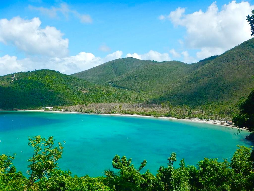 National Park Service Photo Shows Maho Bay Part Of The V I
