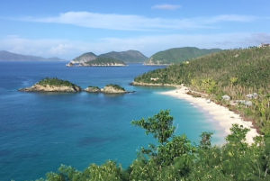 Trunk Bay, which was recently reopened, has been recognized as one of the world's 10 best beaches. (V.I. National Park photo)
