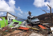 Photo taken in September shows hurricane damaged property on St. John. Monday is the deadline to apply for an SBA loan for help recover from the disaster.