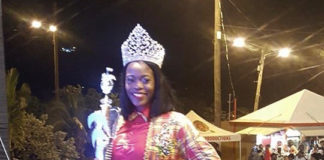 The Caribbean Queen – Temisha Libert – wears the Calypso Monarch crown for the third straight year.