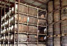 Barrels of rum aging in the Cruzan warehouse represent future revenues for the territory.