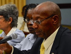 Tax Assessor Ira Mills testifying before the Senate in 2016. (File photo)