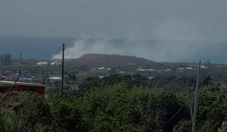 *Update – Reopened Same Day* Anguilla Landfill On Fire for Ninth Time in a Year