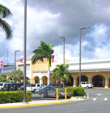 St. Croix's Henry Rohlsen Airport.