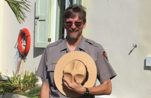 New acting Superintendent Steve Black will be in charge of the V.I. National Park until July.