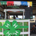 The 4-H sells water with a sense of humor – East Wata, West Wata, Curry Wata, Barbecue Wata all cost a dollar.