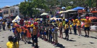 Antilles School students at Children's Parade. (Antilles School photo)