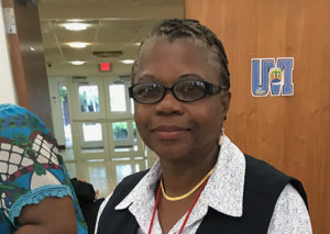Denise Donadelle who as loan officer for the Economic Development Bank, shared her knowledge of and connections for obtaining funds for small and minority business.