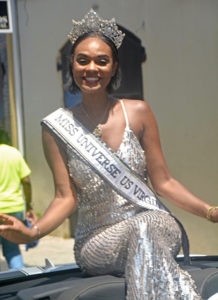 Miss Universe USVI, Esonica Veira, was crowned in October 2017. She has devoted her time to the Atlanta Caribbean Relief Drive. (Gerard Sperry photo)