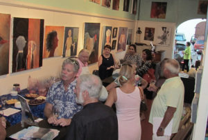 wine tastings at the Mango Tango gallery pair fine art with fine wine. Thursday's event will feature wines from Italy.