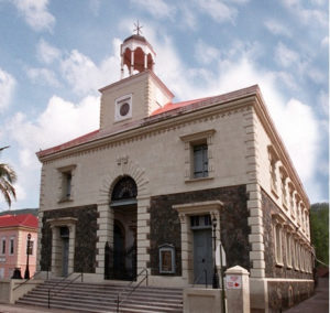 The primary school at  Moravian Church on St. Thomas is one of two that will receive funds from the International Taste of the Territory.