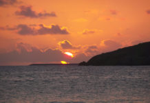 Sunset at Ha'penny Beach. (Source file photo)