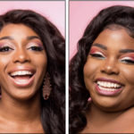 Patrice Shannon, left, and Rachelle JnBaptiste will compete for the title of Miss St. Croix Sunday at the Divi Casino Ballroom. (Submitted photos)