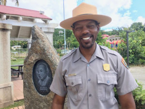 V.I. National Park Superintendent Nigel Fields