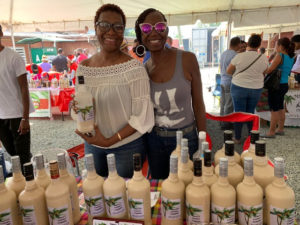 Shawn of Shawn's Country Coquito favors the traditional coquitos at the 2018 Coquito Festival. (Anne Salafia photo)
