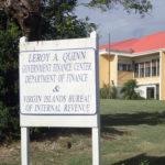 The Bureau of Internal Revenue building on St. Croix.
