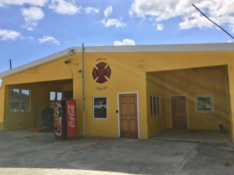 Repairs to Coral Bay Fire Station Almost Complete