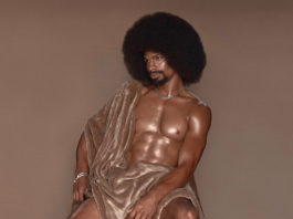 Emmanuel Phillips' portrait, 'Afro,' features his brother Tu'Shouney.