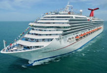 Carnival Glory will dock in Frederiksted Tuesday. (Photo provided by Carnival Cruise Line)