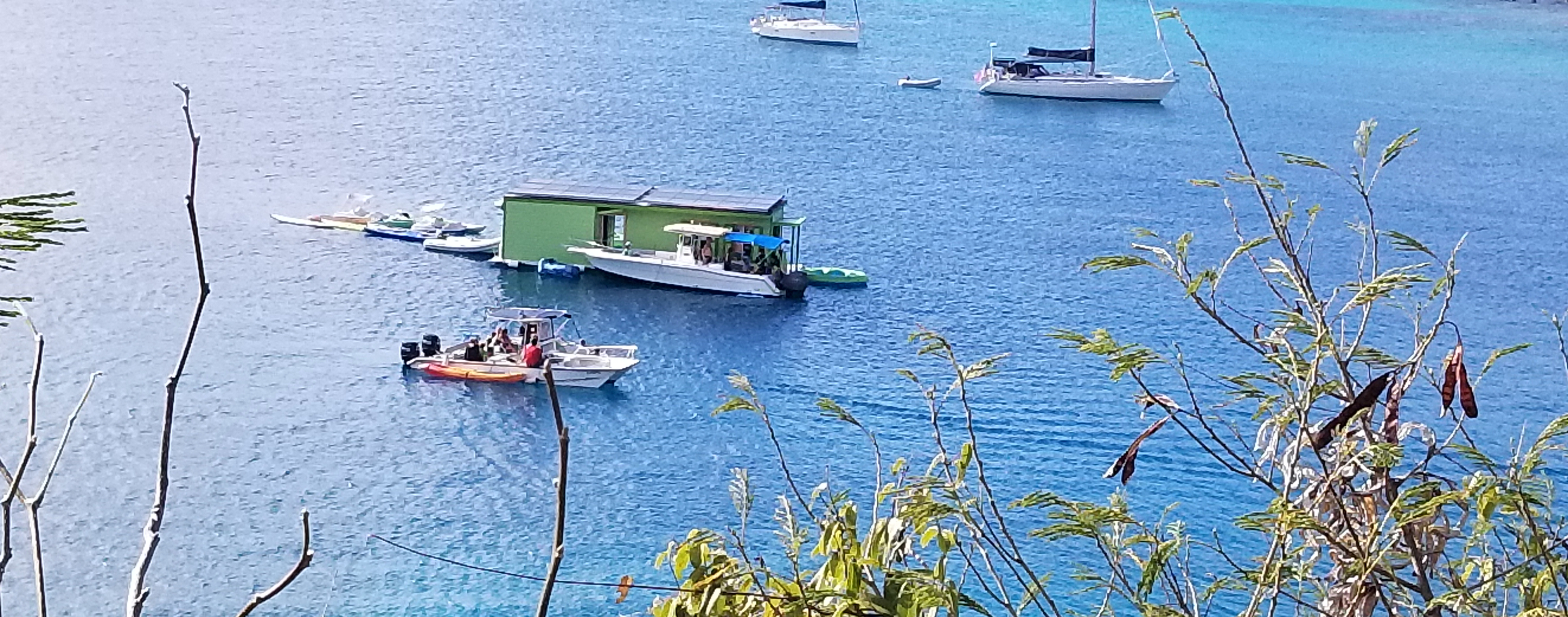 'Floating Food Truck' Opens In Virgin Islands