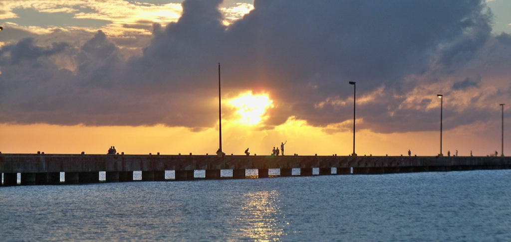 Frederiksted Pier, called by locals