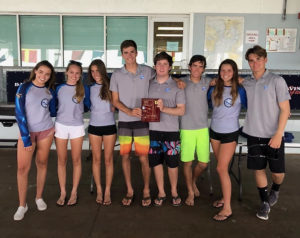 Members of the Antilles School sailing team. (Submitted photo)