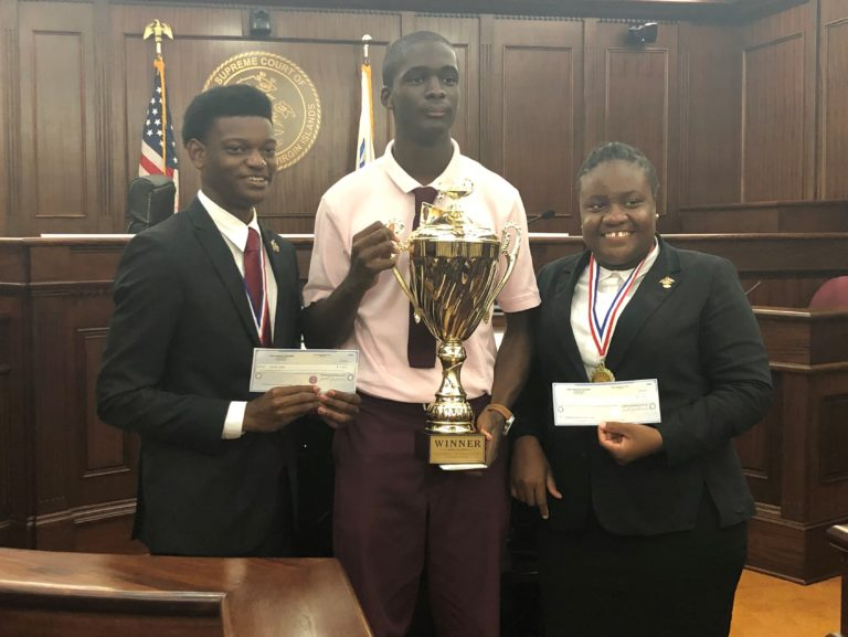 Eudora Kean H.S. Wins Annual Moot Court Competition