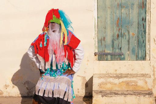 Asta Williams as a masquerader. (Photo by Chalana Brown)