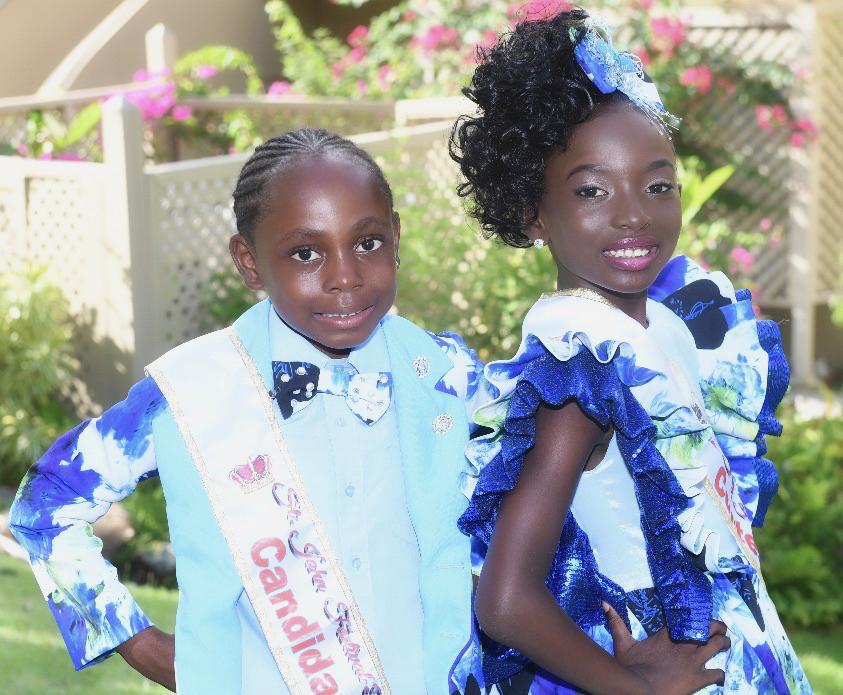 St. John Festival Prince Lemuel Liburd III and Princess Elizabeth Farrell