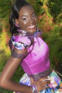 Junior Miss contestant Tamyra Bartlette