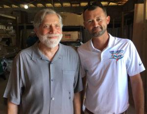 Tom Secunda and Jeff Quinlan. (Amy Roberts photo)