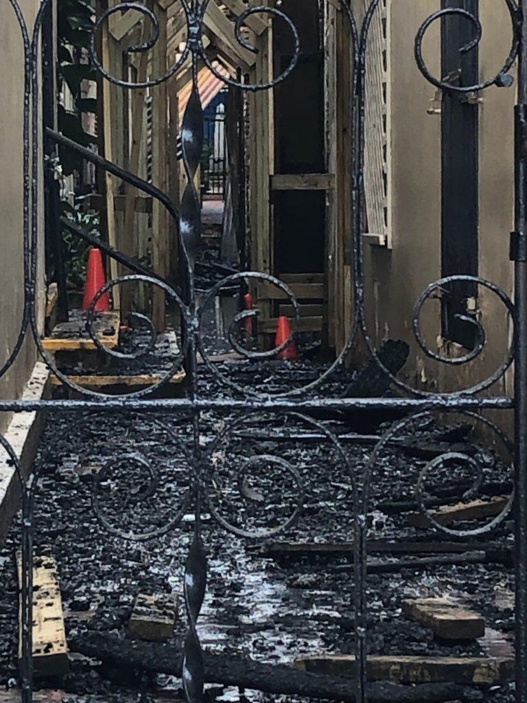 Overnight Blaze Devastates Historic Royal Dane Mall