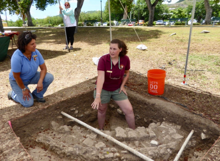 Ancient Footprints – Lots of Archeology Happening on St. Croix
