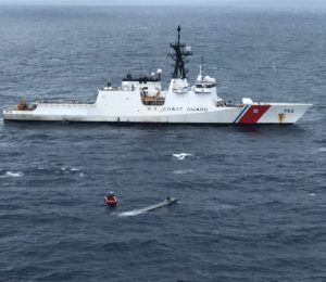 Coast Guard cutter Hamilton. (U.S. Coast Guard photo)