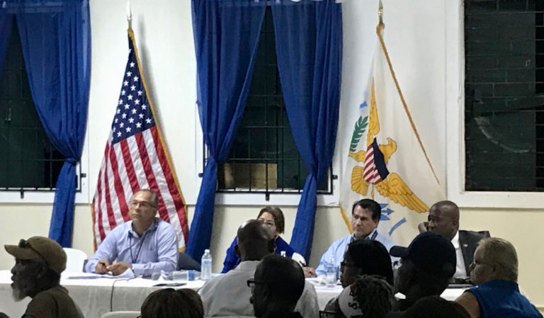 Health Care Major Concern for Veterans at Town Hall