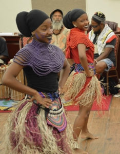 Empresses Addaliah and Atiyah Potter made up the third dance performance. (Photo by Barry Leerdam, Legislature of the Virgin Islands)