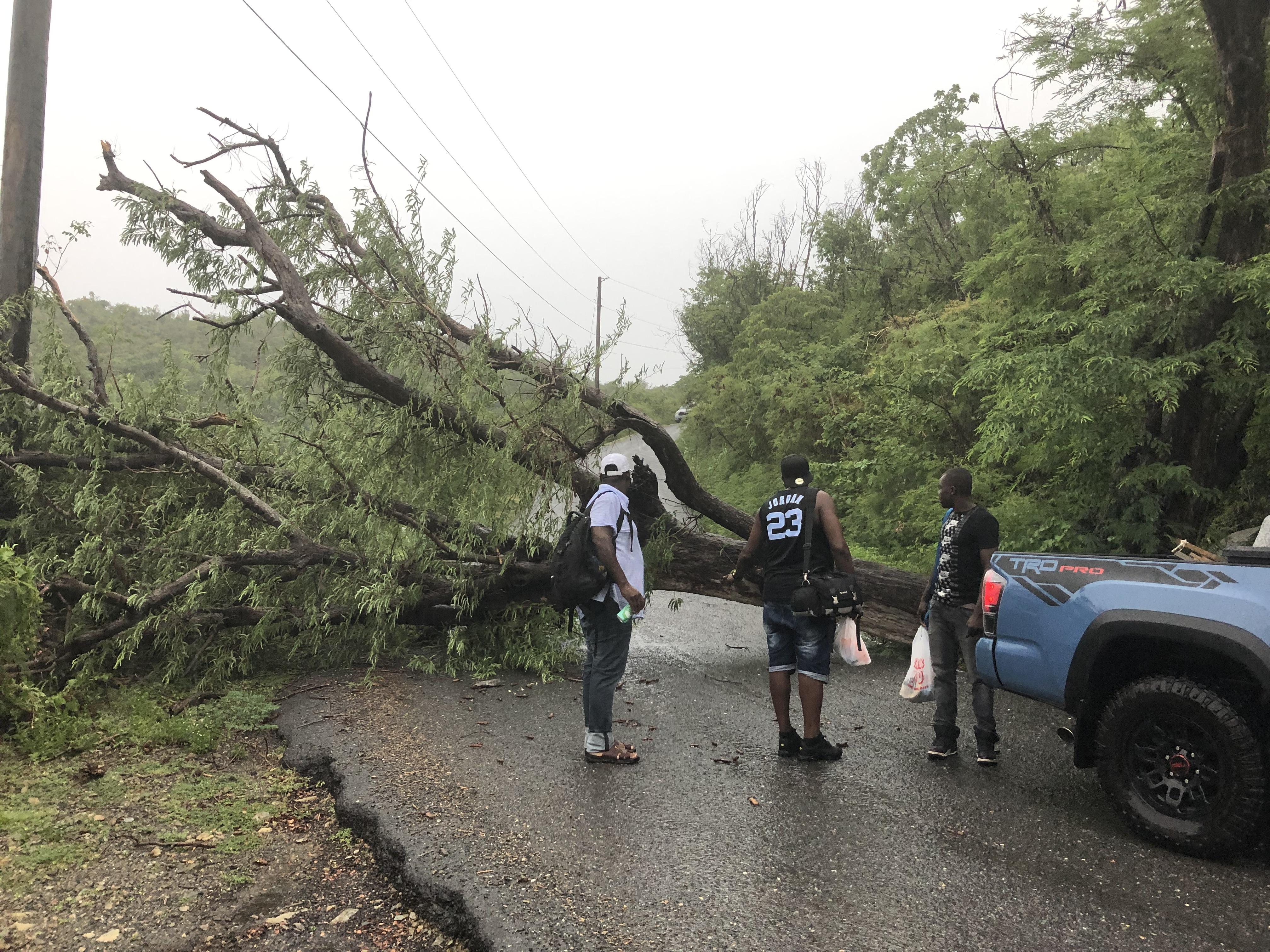 Dorian Upgraded To Hurricane Track Shifts Toward Usvi St