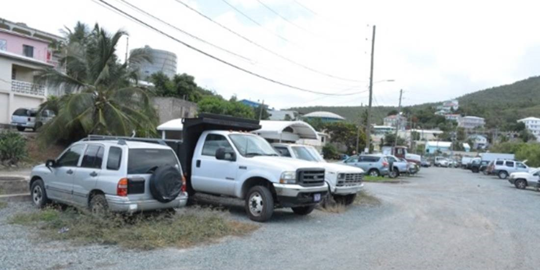 Vipa Will Temporarily Close Enighed Gravel Parking Lot St John Source